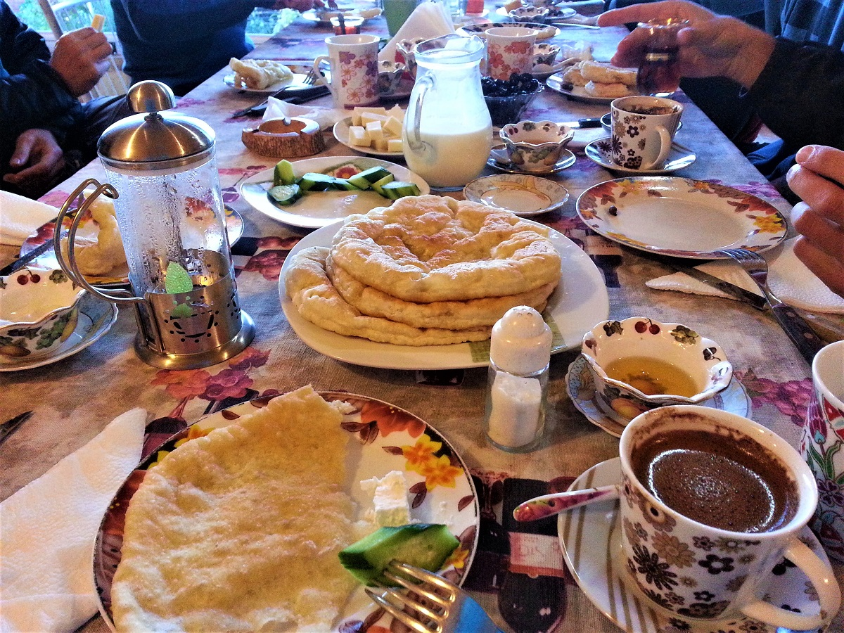 Breakfast in Rhodope Mountains