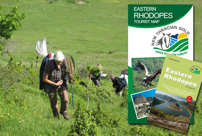 Map and guidebook