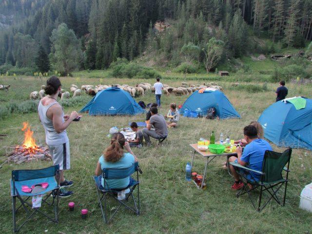 Wild camping