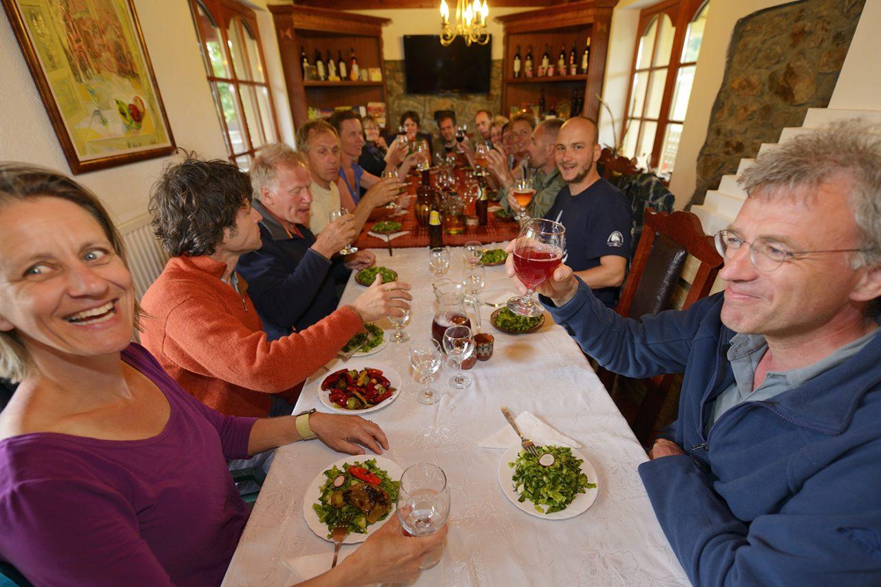 Dinner Gorno pole